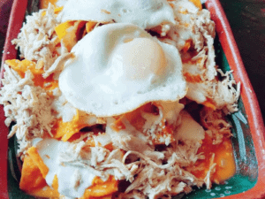 Chilaquiles: Morning